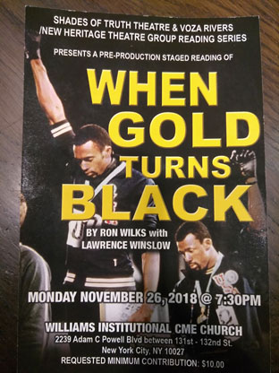When Gold Turns Black Front