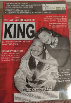 The Day Harlem Saved Dr. King Front